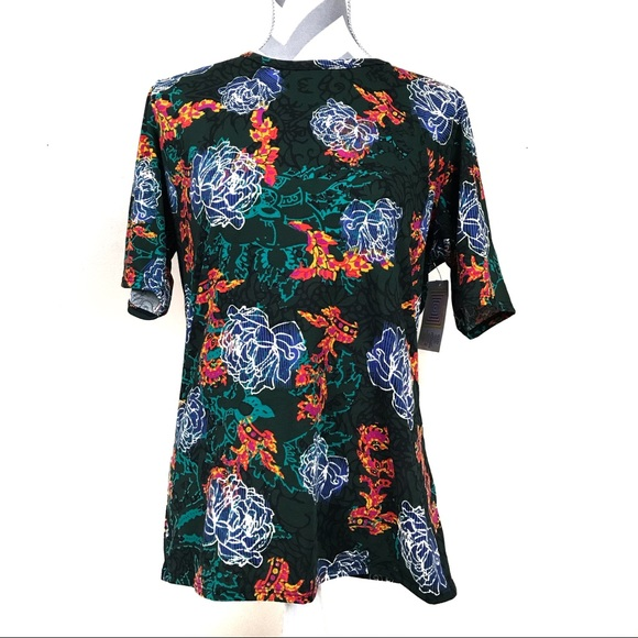 NWT LuLaRoe Gigi floral plus size shirt